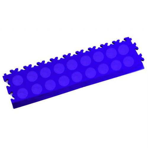 MotoLock Interlocking Tile Edging (Blue CoinTop)